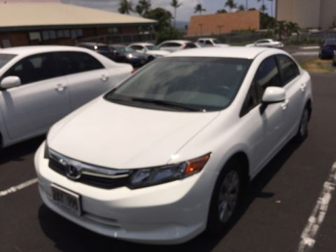 Pre-Owned 2012 Honda Civic Sdn LX Front Wheel Drive Sedan