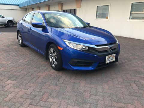 Certified Pre-Owned 2016 Honda Civic Sedan LX Front Wheel Drive