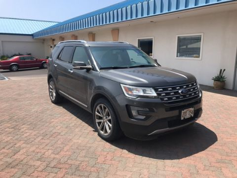 Pre-Owned 2016 Ford Explorer Limited Four Wheel Drive Sport Utility