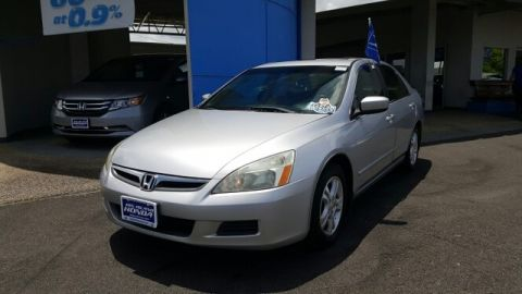 Pre-Owned 2007 Honda Accord Sdn EX-L Front Wheel Drive Sedan