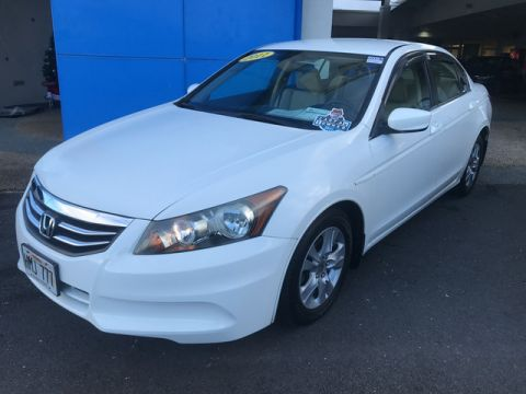 Pre-Owned 2011 Honda Accord Sdn SE Front Wheel Drive