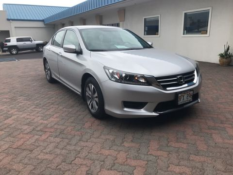 Pre-Owned 2014 Honda Accord Sedan LX Front Wheel Drive Sedan