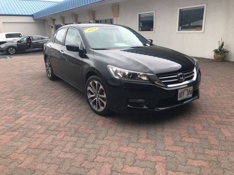 Pre-Owned 2014 Honda Accord Sedan Sport Front Wheel Drive Sedan