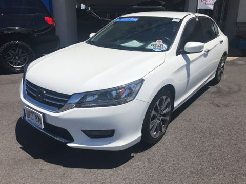 Certified Used Honda Accord Sedan Sport