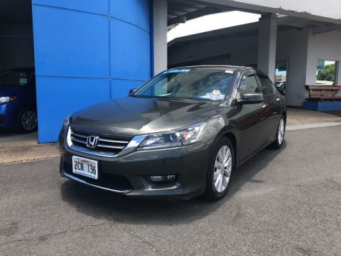 Certified Pre-Owned 2014 Honda Accord Sedan EX-L Front Wheel Drive Sedan