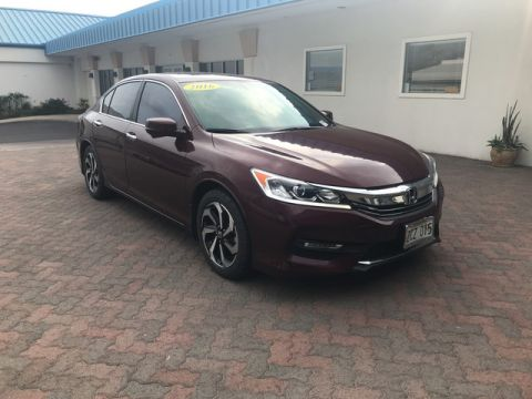 Pre-Owned 2016 Honda Accord Sedan EX-L Front Wheel Drive