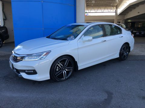 Certified Pre-Owned 2016 Honda Accord Sedan Touring Front Wheel Drive