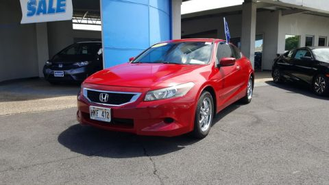 Pre-Owned 2008 Honda Accord Cpe EX-L Front Wheel Drive Coupe
