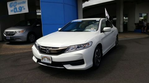 Certified Pre-Owned 2016 Honda Accord Coupe LX-S Front Wheel Drive Coupe