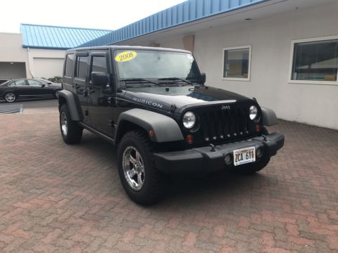 Pre-Owned 2008 Jeep Wrangler Unlimited Rubicon Four Wheel Drive
