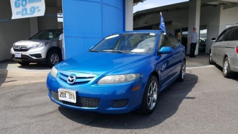 Pre-Owned 2008 Mazda6 s Sport VE Front Wheel Drive Sedan