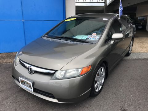 Pre-Owned 2008 Honda Civic Sdn LX Front Wheel Drive Sedan