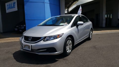 Certified Pre-Owned 2014 Honda Civic Sedan LX Front Wheel Drive Sedan