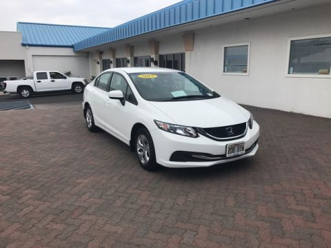 Pre-Owned 2015 Honda Civic Sedan LX Front Wheel Drive Sedan
