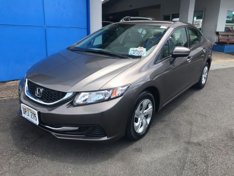 Certified Used Honda Civic Sedan LX
