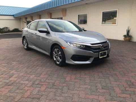 Pre-Owned 2016 Honda Civic Sedan LX Front Wheel Drive
