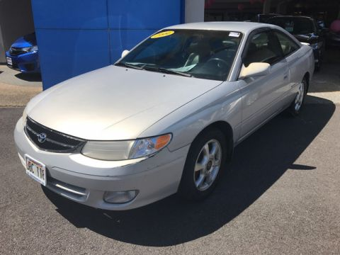 Pre-Owned 1999 Toyota Camry Solara SLE Front Wheel Drive Coupe