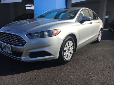 Pre-Owned 2014 Ford Fusion S Front Wheel Drive Sedan