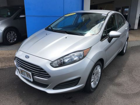 Pre-Owned 2015 Ford Fiesta S Front Wheel Drive Sedan