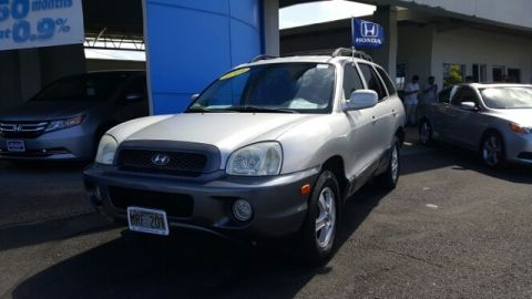 Pre-Owned 2004 Hyundai Santa Fe GLS All Wheel Drive SUV
