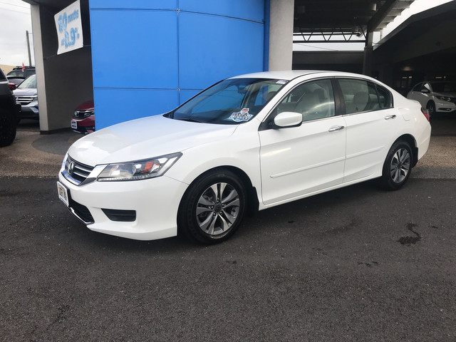Certified Pre-Owned 2014 Honda Accord Sedan LX Front Wheel Drive