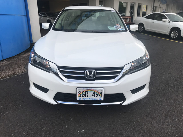 Certified Pre-Owned 2014 Honda Accord Sedan LX