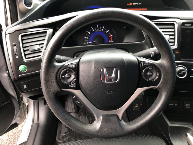Certified Pre-Owned 2015 Honda Civic Sedan SE