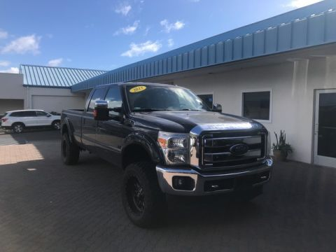 Pre-Owned 2015 Ford Super Duty F-250 SRW Lariat