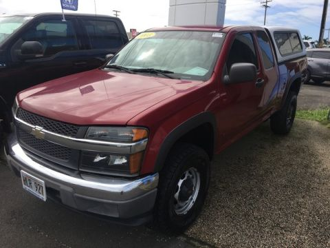 Pre-Owned 2006 Chevrolet Colorado Work Truck