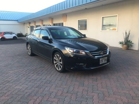 Pre-Owned 2015 Honda Accord Sedan Sport Front Wheel Drive