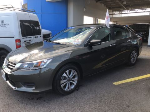 Certified Pre-Owned 2015 Honda Accord Sedan LX Front Wheel Drive