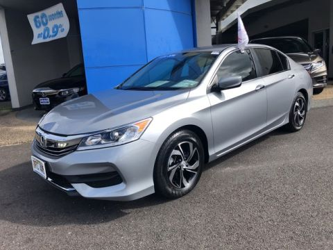 Certified Pre-Owned 2016 Honda Accord Sedan LX Front Wheel Drive