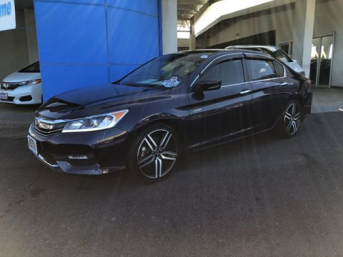 Certified Pre-Owned 2016 Honda Accord Sedan Sport Front Wheel Drive