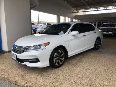 Certified Pre-Owned 2017 Honda Accord Sedan EX-L V6 Front Wheel Drive