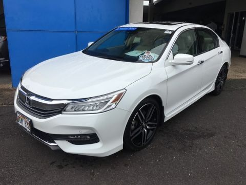 Certified Pre-Owned 2017 Honda Accord Sedan Touring Front Wheel Drive