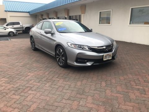 Certified Pre-Owned 2016 Honda Accord Coupe EX-L Front Wheel Drive