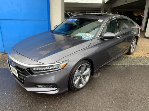 Certified Pre-Owned 2018 Honda Accord Sedan Touring 1.5T Front Wheel Drive