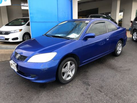 Pre-Owned 2004 Honda Civic EX Front Wheel Drive