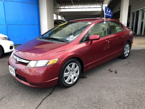 Pre-Owned 2008 Honda Civic Sdn LX Front Wheel Drive