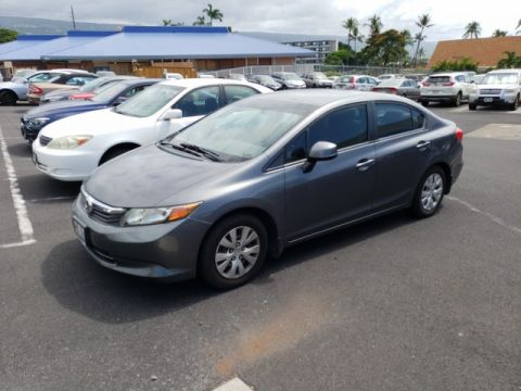 Pre-Owned 2012 Honda Civic Sdn LX Front Wheel Drive