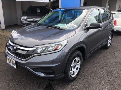 Certified Pre-Owned 2015 Honda CR-V LX Front Wheel Drive