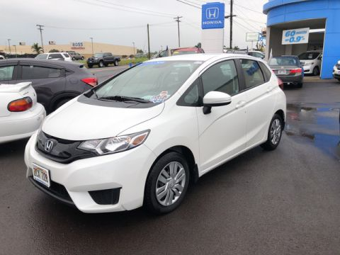Certified Pre-Owned 2015 Honda Fit LX Front Wheel Drive