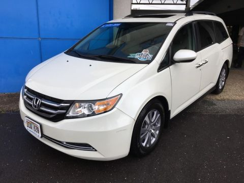 Certified Pre-Owned 2015 Honda Odyssey EX-L Front Wheel Drive