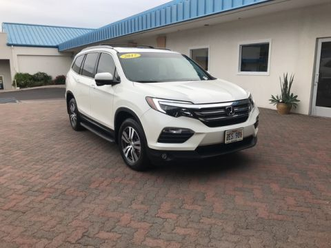 Certified Pre-Owned 2017 Honda Pilot EX-L All Wheel Drive