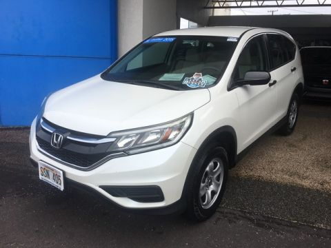 Certified Pre-Owned 2015 Honda CR-V LX
