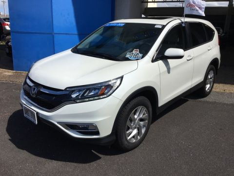 Certified Pre-Owned 2015 Honda CR-V EX Front Wheel Drive