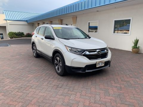 Pre-Owned 2017 Honda CR-V LX Front Wheel Drive