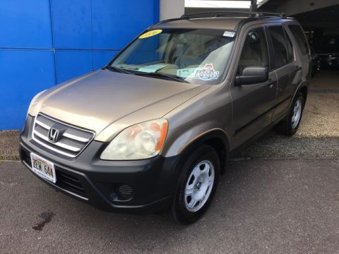 Pre-Owned 2006 Honda CR-V LX Front Wheel Drive