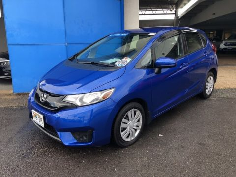 Certified Pre-Owned 2017 Honda Fit LX Front Wheel Drive